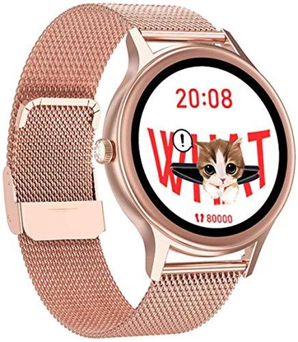Reloj inteligente para hombres y mujeres es adecuado para Android2021 nuevo reloj inteligente deportivo monitor de ritmo cardíaco impermeable pulsera de fitness d
