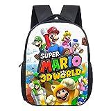 Bonamana Super Mario Bros Mochila Escolar Impreso 3D Mochila Viaje Mochilas Libro Bolsas Bolsa Escuela