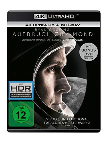 Aufbruch zum Mond (4K Ultra HD) (+ Blu-ray 2D) (+ Bonus-DVD)