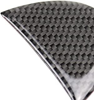 Lorsoul 6pcs Set Auto-Fenster S/äule B-S/äule Carbon-Faser-Abdeckung replacemnt F/ür Mercedes Benz GLA 2013-2018