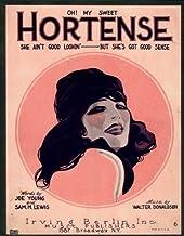Oh! My Sweet Hortense (She Ain't Good Lookin'– But She's Got Good Sense)