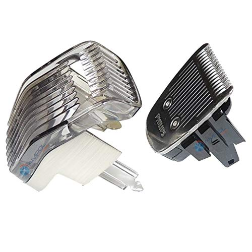Replacement Standard Blade and Adjustable Comb for Philips Norelco Series 7200 Trimmers
