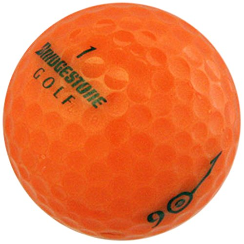 Bridgestone e6 Orange AAAAA Pre-Owned Golf Balls