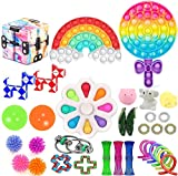 Huibao Fidget Toys, Fidget Packs Figit Toys Packages Sensory Toys Figetsss Toys Sets, Figetget Toys Pack Stress Anxiety Relief Toys for ADHD (Fidget Toys 3)