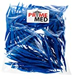 Bulk Priced Plastic Blue Forceps (Tapered Tweezers) from PrimeMed (50 Pack)...