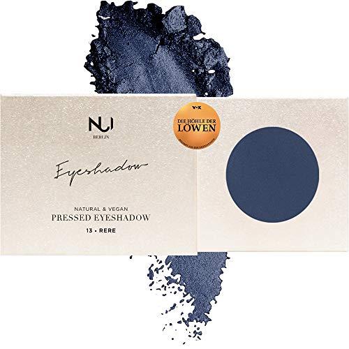 NUI Cosmetics Naturkosmetik vegan natürlich glutenfrei - Natural Pressed Eyeshadow 13 RERE, matter Lidschatten im Farbton Dunkelblau