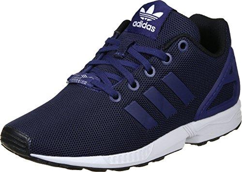 Adidas Mädchen Tenis ZX Flux Sneaker, 38 2/3 EU, Bleu Marine