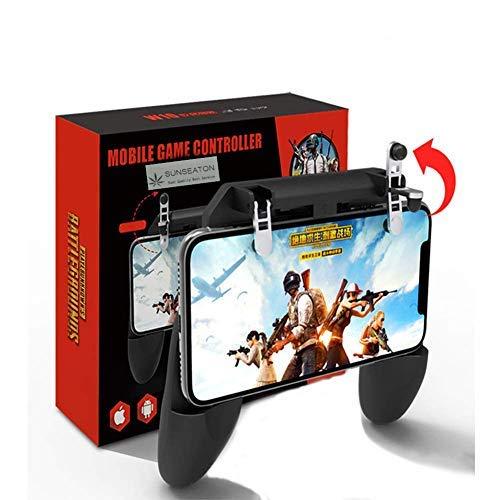 SUNSEATON Mobile Game Controller, Sensitive Shoot e Aim Keys Sensitive Controller Joystick PUBG Mobile, per Telefoni 4.7-6.5 Pollici