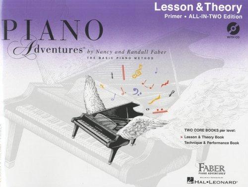 Piano Abenteuern: Lehrstunde und Theory - ganz In zwei Edition GRUNDIERUNG Buch - Noten, CD