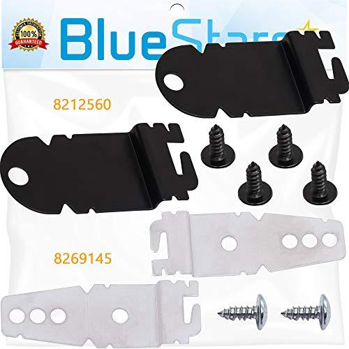 Blue Stars Ultra Durable 8212560 & 8269145 Seitenmontage-Set für Geschirrspüler, mit Schrauben, Ersatz für KitchenAid Whirlpool Kenmore Geschirrspüler