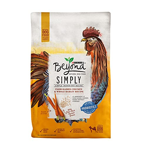 Purina Beyond Limited Ingredient, Natural Dry Dog Food, Simply White Meat Chicken & Barley Recipe - 3.7 lb. Bag
