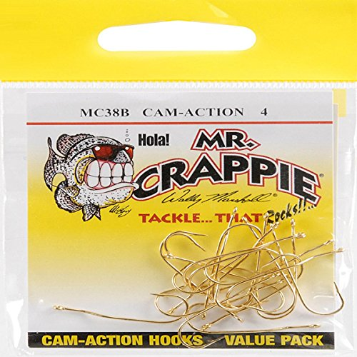 Mr Crappie MC38B 4 Cam-Action Hooks
