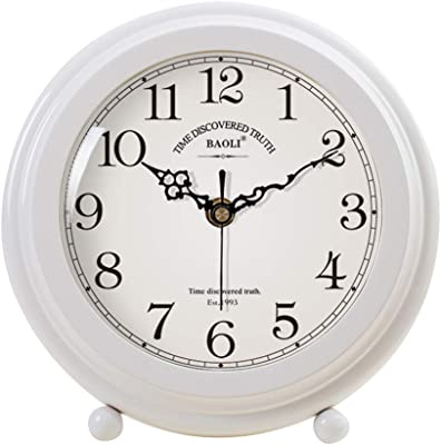 Retro Reloj de sobremesa Salón de Madera Maciza Reloj de Mesa ...