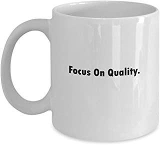 errterfte Focus On Quality 11 oz Coffee Mug A Boilermaker Ceramic Cup Gift for Boilermakers Tea Cup Ceramic Mug Coffee Mug Best Gift