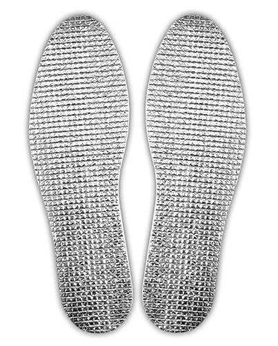 1 Paar Thermo EINLEGESOHLE ALU-WÄRME Gr. 36-46 zuschneidbar Schuheinlagen Sohlen Sohle 18