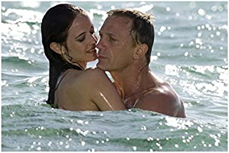 Eva Green 8x10 Photo Casino Royale Penny Dreadful in the Water w/Daniel Craig kn