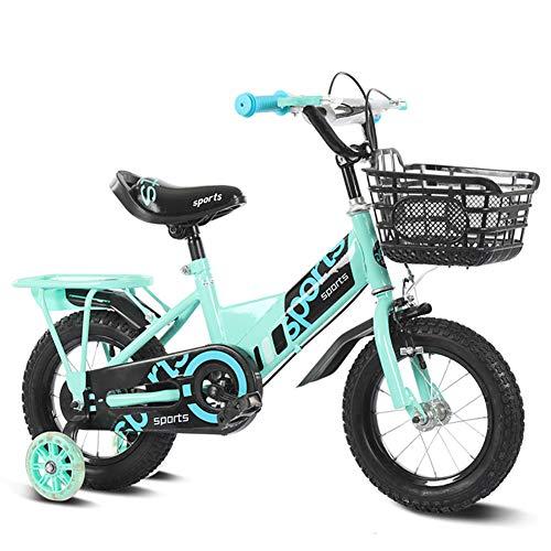 Unisex Kinderfahrrad, Jungs Mädchen Kinder Faltbares Fahrrad, 3 Farben, 12