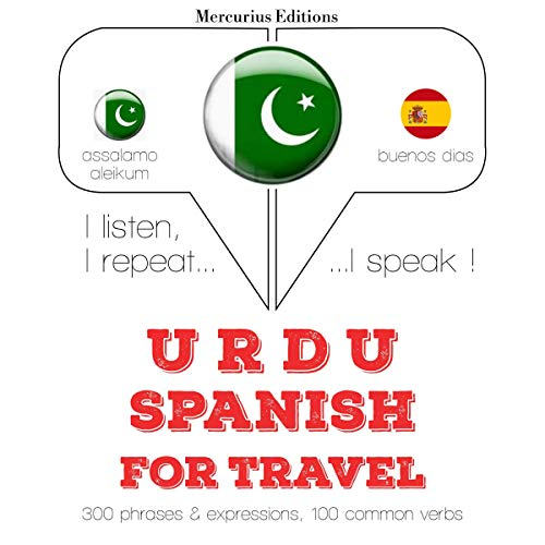 Urdu – Spanish. For travel cover art