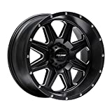 Pro Comp Wheels 5163-218947 Recon Series Size 20x10 Bolt Pattern 8x180 in. Back Space 4.75 in. -18mm Offset Satin Black Milled Recon Series