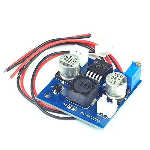 DC-DC-Spannungsregler Einstellbare Reglerschaltung Schaltnetzteil (Blue-Board) mit Linie Ultra Small - Blau