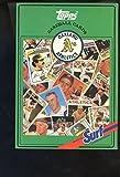1987 Topps Baseball Book Oakland A's Card Team Complete Set Surf Athletics