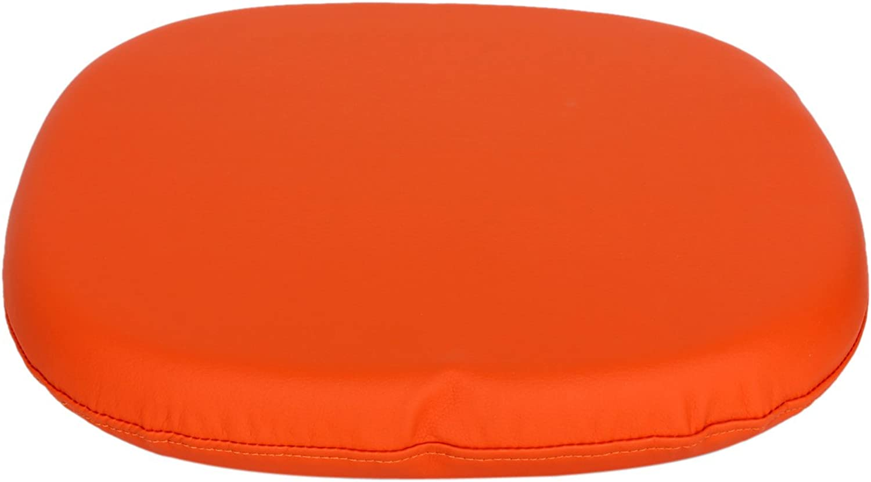 Control Brand DC323CUSHIONORG Tulip Chair Replacement Cushion, orange