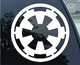 Adhesivo de vinilo Galactic Empire Star Wars adhesivo para ventanas de camión de bomberos