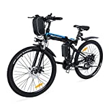 VARUN Faltbares E-Bike 26 Zoll Faltbar E-Klapprad 250W Motor 36V 8Ah(288Wh) Lithium-Ionen-Batterie...