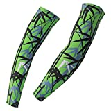 Spoz Pro Outdoor Sport Bamboo Green Arm Sleeves XXXL