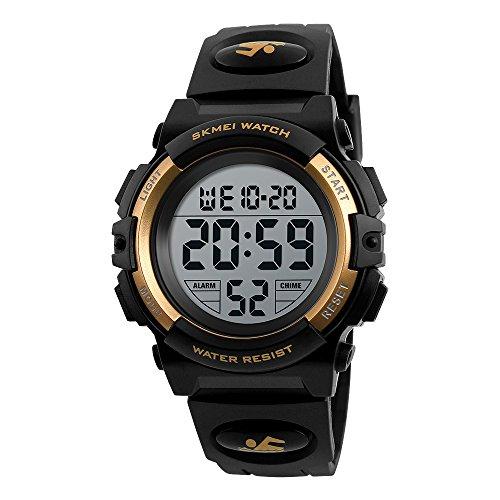Kids Watch, Boys Sports Digital Waterproof Led Watches with Alarm Wrist Watches for Boy Girls Children Watch N