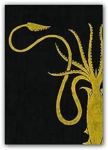 Thrones Art Sleeves House Greyjoy (HBO) Pack of 50 Sleeves