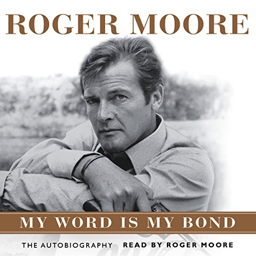 Roger Moore audiobook cover art
