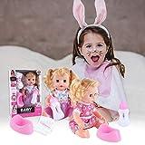iBoosila - Set de muñecos de simulación para niños pre-promoción, Set de Regalo con Funciones de Hablar, Juguete para Beber, Set de muñecos Blandos, Set de Regalo con Funciones de conversación