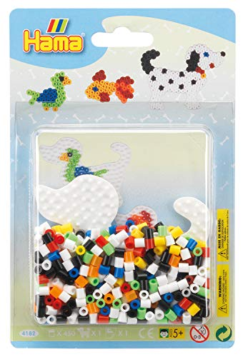 Hama 10.4182 Dog Small Blister Pack, Multicolour, One Size