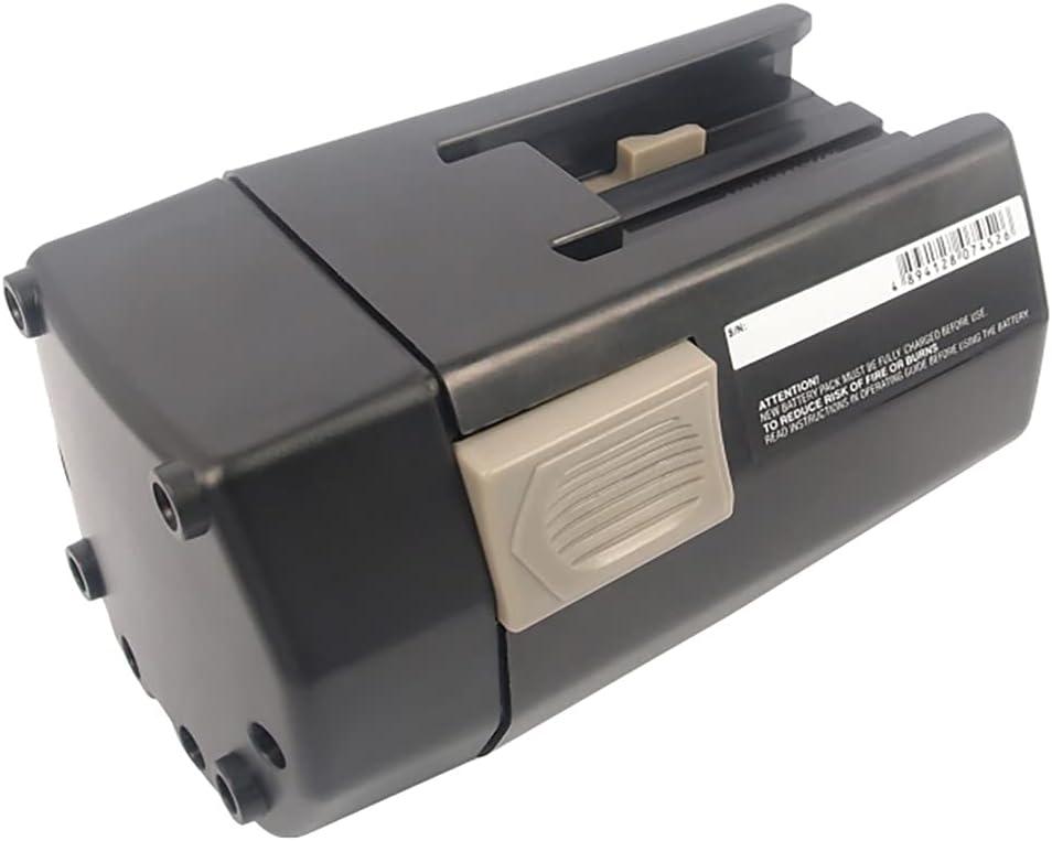 PowerSmart® Batería de níquel-metal hidruro BBH24, 3300 mAh, 24 V, para AEG/Milwaukee BXS24, BXL24, MXS24, Loktor H 24X, Mini Relay SH04 16, Mini Relay SH04 17