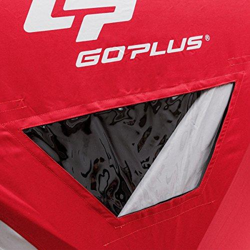 Goplus(ゴープラス)『GoplusPortablePop-upIceShelterFishingTentwithBag』