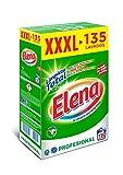 Elena detergente lavadora para ropa formato profesional 135 dosis/7,037 kg.