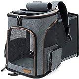 Best Dog Backpacks - Lekesky Pet Backpack Carrier Expandable Dog Carrier Backpack Review