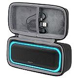 co2crea Hard Travel Case Replacement for DOSS SoundBox Pro Portable Wireless Bluetooth Speaker (Black)