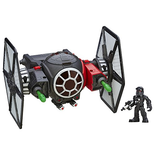 Star Wars Galactic Heroes Special Force Tie Fighter with Pilot Elite Action Figure