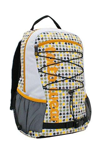 toito wear, Rucksack, HxLxB: 40x16x30 cm, ca. 20 Liter, Mosaic, Weiß/Gelb, 50092-6