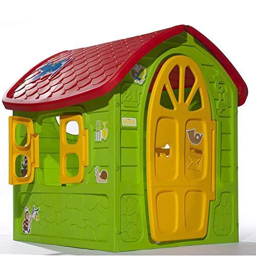 Dohany 5075 Spielhaus, Indoor und Outdoor, Gartenhaus für Kinder ab 2 Jahren, Mehrfarbig
