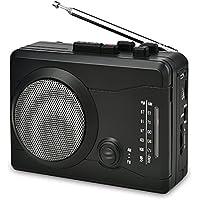 DIGITNOW! Reproductor de Casete USB Grabadora de Audio Personal con Altavoz, Cinta de Casete de grabación de Radio a Digital MP3 Converter