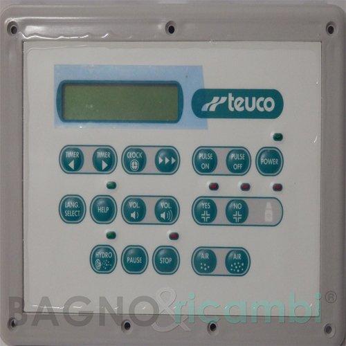 TEUCO Ersatz-Bedienfeld 265 81765000 für Badewanne