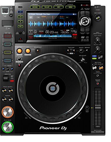 Pioneer CDJ-2000NXS2 Mischpult Audio (4 - 40000 Hz, 17,8 cm (7 Zoll), Full Colour-LCD)