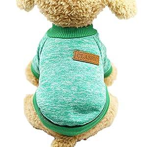 WANGLAI Creative Mignon pour Animal Domestique Vêtements Doux Confortable en Laine Pull pour Chien Puppy Automn Hiver Vêtements/Multi-Sizes