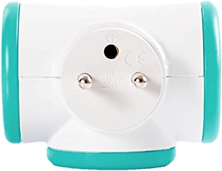 WATT & CO MPF3C Multi Plug, Multicolour, MPF3C-TU-CT