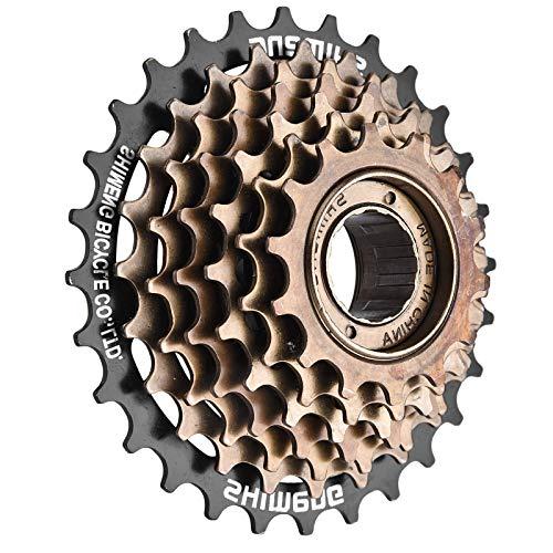 ZHAOFENGMING Cassetta Ruota Libera per Bicicletta Rotante A 7 velocità, Accessorio di Ricambio Bici Ampio Rapporto MTB Mountain Fit Pignone Singolo Volano Ingranaggio