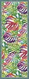 Vilber Saphira DU 04 52X140 Alfombra, Vinilo, Multicolor, 52 x 140 x 0.22 cm