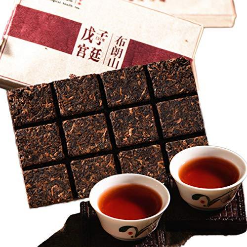 HELLOYOUNG Yunnan Puerh tea 2008 brick Pu Erh brick tea 80g (0.176LB) Pu er ripe tea Health care tea Pu'er tea Black tea Chinese...
